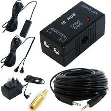 IR INFRARED HUB REPEATER SYSTEM- REMOTE CONTROL EXTENDER-MAGIC EYE RECEIVER KIT