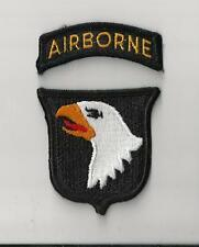 ThUS ARMY PATCH - 101ST AIRBORNE DIVISION WITH TAB
