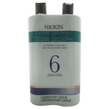 System 6 Cleanser & Scalp Therapy Conditioner Duo by Nioxin - 33.8 oz
