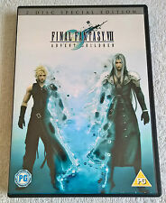 Final Fantasy VII - Advent Children (DVD, 2006, 2-Disc Set, Animated) - VGC