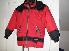 Child's hooded ski jacket by CMP, Rapide,  size 128 cms, washable