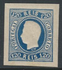 Portugal - 1866, 120r Blue - 4 Margins - M/M - SG 46 - Cat £475