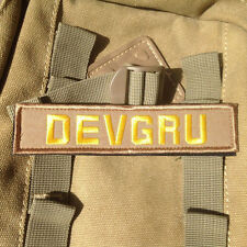 DEVGRU TACTICAL MILITARY MORALE SWAT U.S. ARMY EMBROIDERY BADGE VELCRO PATCH