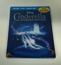 Disney CINDERELLA Blu-ray Viva Metal / STEELBOOK [Future Shop Canada] NEW / MINT
