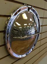 "14"" HOLLYWOOD FLIPPER MOON Custom Hot Rod Chrome Hubcap Wheelcover"