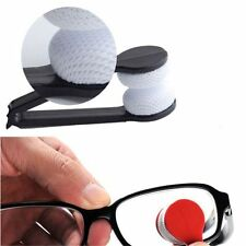 1pc Mini Sun Glasses Eyeglass Microfiber Brush Cleaner Hone office Clean Easy