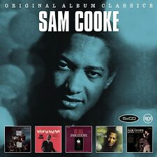 SAM COOKE - ORIGINAL ALBUM CLASSICS 5 CD NEU