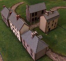 Nuevo 5 X 28mm conjunto de Normandía edificios listos hizo D