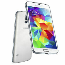 Samsung Galaxy S5 G900F (Latest Model) - 16 GB - White (Unlocked) Smartphone