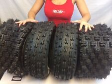 21x7-10 20x11-9 Slasher ATV Tires (All 4 Tires) HONDA TRX 300EX 400EX 400X 450R