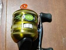 New Authentic Zebco 33 Custom Spincasting Reel - Dew (Lime Green) Spincast Reel