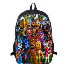 Five Nights At Freddy's FNAF Backpack School Book Bag Kids Boy's Shoulder Bag