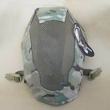 New TMC Metal Mesh Full Face Mask Protection Airsoft Paintball CS Games C1719