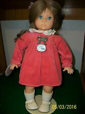 Vintage Colette 14 inch Vinyl and Cloth Zapf Doll made in W. Germany