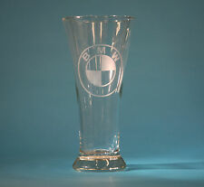 BMW 20oz CUSTOM ETCHED PILSNER GLASS X5 Z3 Z4 M3 M5 330 540 850 745 320 2002