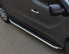TO FIT VAUXHALL VIVARO 2014+ LWB: ALUMINIUM RUNNING BOARDS SIDE STEPS / BARS