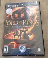Lord of the Rings Third Age NEW shrinkwrapped Black label Playstation 2 PS2