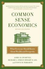 Common Sense Economics: What Everyone Should Know About Wealth and Pro-ExLibrary