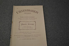 L'illustration Theatrale N°46 Jules César Shakespeare (1906)
