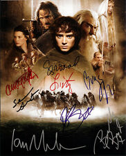 LORD OF THE RINGS CAST SIGNED 8X10 PHOTO RP ELIJAH WOOD