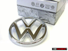 Bus T3 Genuine VW Front Grill Badge Emblem Chrome Nos