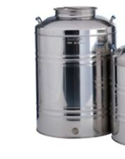 Stainless steel tank / container for olive oil, wine etc... holds 100 litres