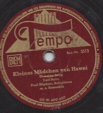 Paul Höpfner Hawaii-Gitarre mit Gesang Hans Freder : Kleines Mädchen von Hawaii