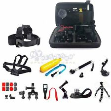 26in1 Head Chest Mount Floating movement Accessories Kit For GoPro 2 3 4 Camera