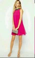 BNWT * COAST * LILO PINK DRESS, 10  VIVID COLOUR,OCCASION,RACES,EMBELLISHED