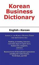 Korean Business Dictionary: English-Korean, , Yoon, Peter, Sofer, Morry, Excelle