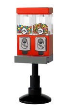 "1 Classic Double Candy Dispenser accessory for 2"" minifigures - custom printed"
