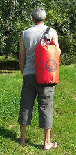 30L roll top dry bag 100% waterproof lightweight TOUGH RIPSTOP nylon with strap