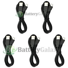 5 USB 6FT Micro Battery Charger Data Cable for Samsung Galaxy S6/Edge/Core Prime
