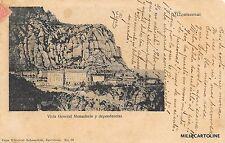 SPAIN - Montserrat - Vista general Monasterio y dependencias 1903