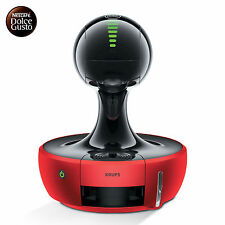 Nescafe Dolce Gusto Drop Coffee Maker Capsule Espresso Machine (Red / Silver)