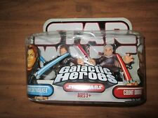 Star Wars Galactic Heros Skywalker Vs Dooku Action Figure