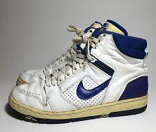 """1987 Nike Air Force II (2) High """"White / Royal"""" US 8.5"""