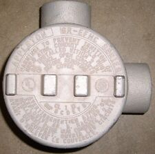 """APPLETON GR-L , 1"""" , 2 Way Outlet Box for Hazardous Locations , New"""