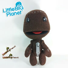 LittleBigPlanet Sackboy Plush Toy SONY PS3 PSP Character Doll Stuffed Animal 7""