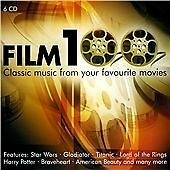 Film 100 (Classic music from your favourite movies) 6 x CD Set (RARE)