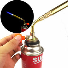 Useful Butane Gas Blow Torch Burner Welding Soldering Flame Outdoor Baking BBQ