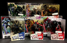 2004 MCFARLANE TOYS ART OF SPAWN SERIES 26 ISSUE #7 8 TREMOR 3  6 FIGURE SET J34