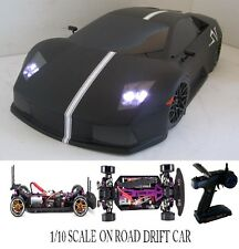 Lamborghini Gallardo Fully Custom 1/10 Scale Remote Control Onroad Drift Car