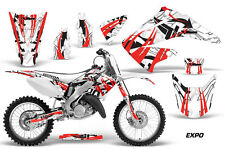Honda Graphic Kit AMR Racing Bike Decal CR 125/250 Decal MX Parts 02-13 EXPO RED