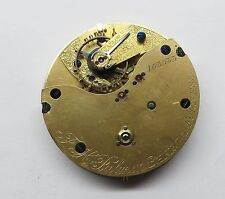 Antique Centre Second Chronograph Pocket Watch movement F.H.Palmen B in Furness