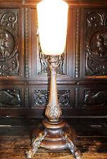 Tisch Stand Boden Lampe Licht Leuchte Tischlampe Tischleuchte antik Barock Louis