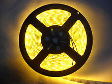 500cm LED Flexible Strip Car light 5M SMD 5050 Yellow Waterproof IP65 300 LEDs
