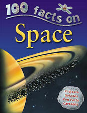 Space (100 Facts), Sue Becklake Paperback Book
