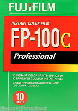 2 x FUJI FP-100c GLOSS INSTANT FILM (Polaroid 669.690.125i ) by 1st CLASS POST