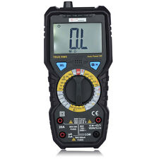 BSIDE ADM08D True RMS Digital Multimeter DMM AC DC Voltage Capacitance Temp NVC